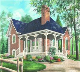 House Plan #126-1226