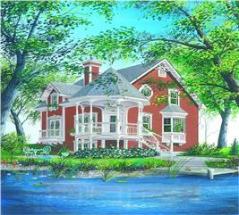 House Plan #126-1230