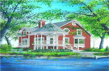 Main image for house plan # 4096