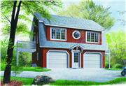 View house Plan#126-1237