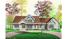 Main image for house plan # 4106