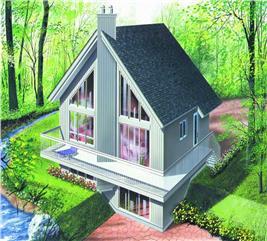 House Plan #126-1242
