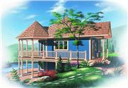 View house Plan#126-1243