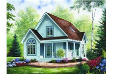 Main image for house plan # 4094