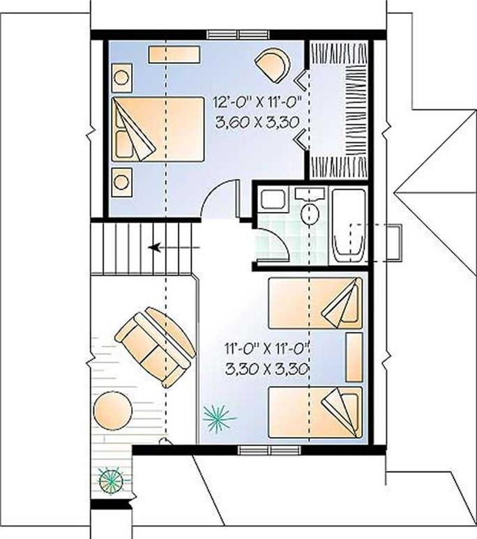 ... Upper Level Floor Plan