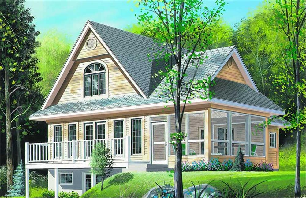 Main image for house plan # 4091