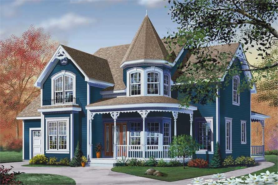 Main image for house plan # 13171