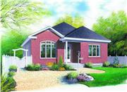 View house Plan#126-1251