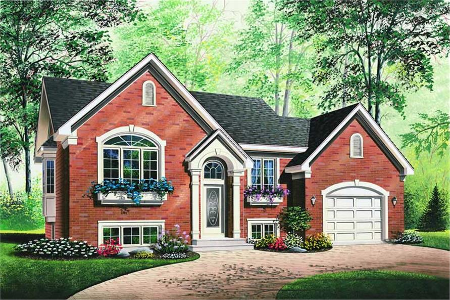 Main image for house plan # 4180