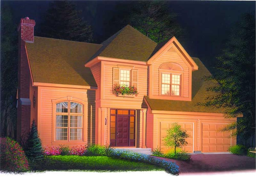 Main image for house plan # 4121