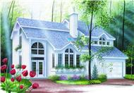 Main image for house plan # 4164