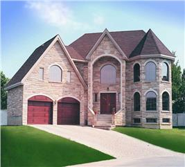 House Plan #126-1267