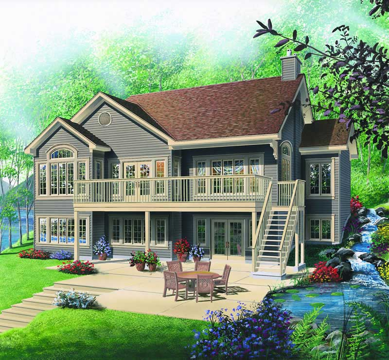 Traditional, Vacation Homes House Plans