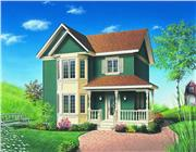 View house Plan#126-1270