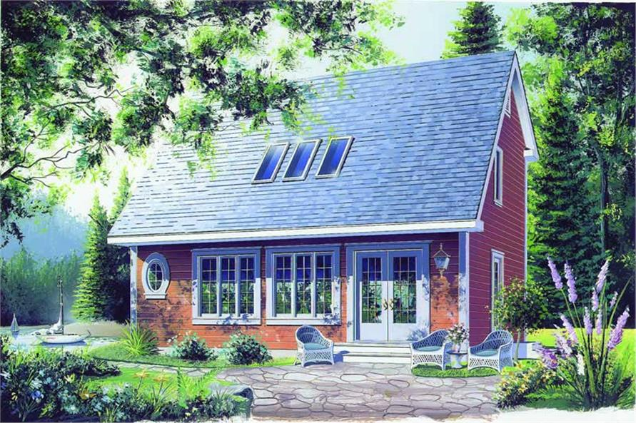 2-Bedroom, 1170 Sq Ft Country House Plan - 126-1274 - Front Exterior