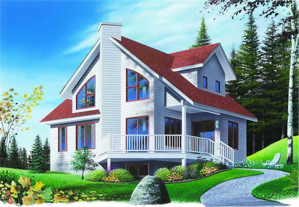 Main image for house plan # 4123