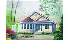 Main image for house plan # 4172