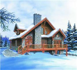 House Plan #126-1280