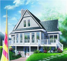 House Plan #126-1281