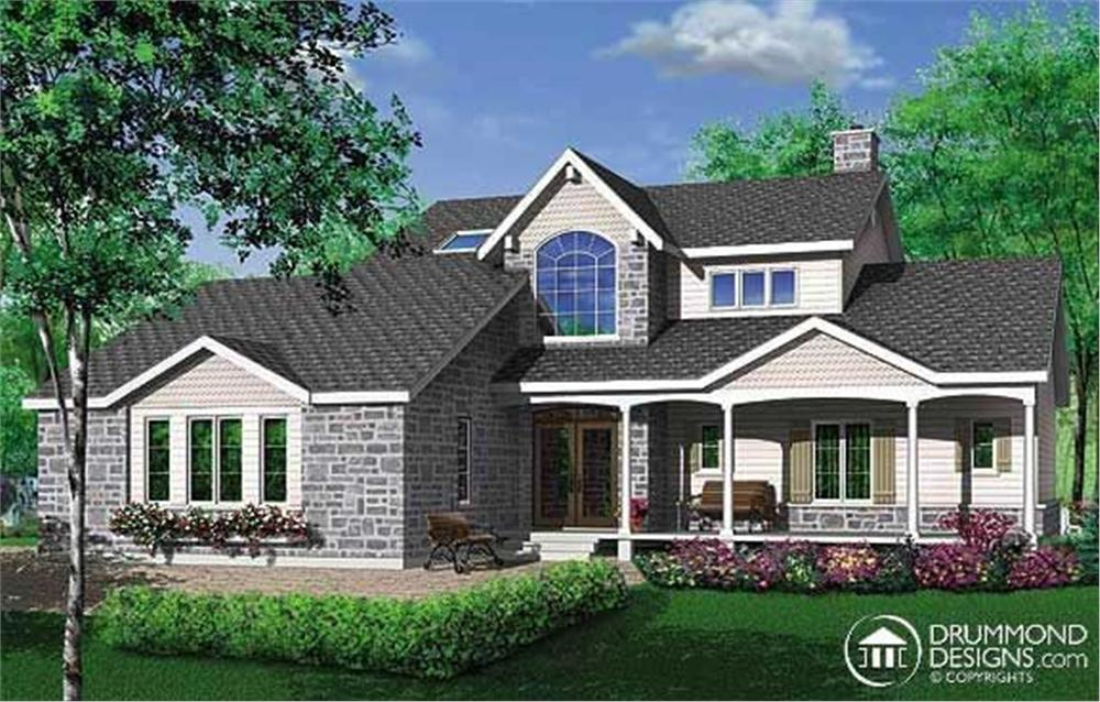 Main image for house plan # 3527