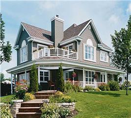House Plan #126-1286