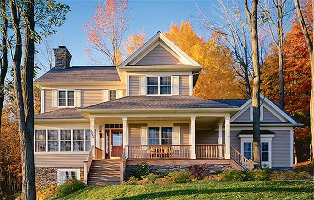 Main image for house plan # 3503