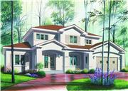 View house Plan#126-1290
