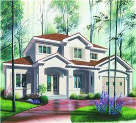 House Plan #126-1290