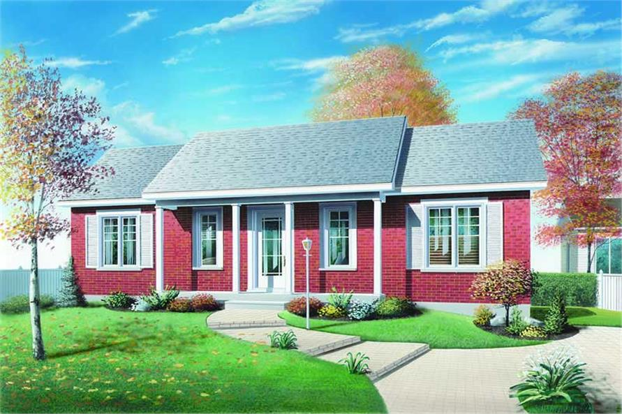 Main image for house plan # 4168