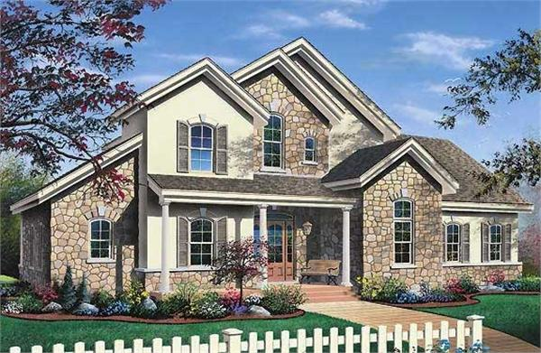 Main image for house plan # 3534