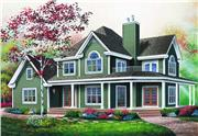 View house Plan#126-1294