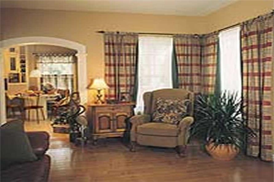 Living Room of this 3-Bedroom,2257 Sq Ft Plan -126-1297