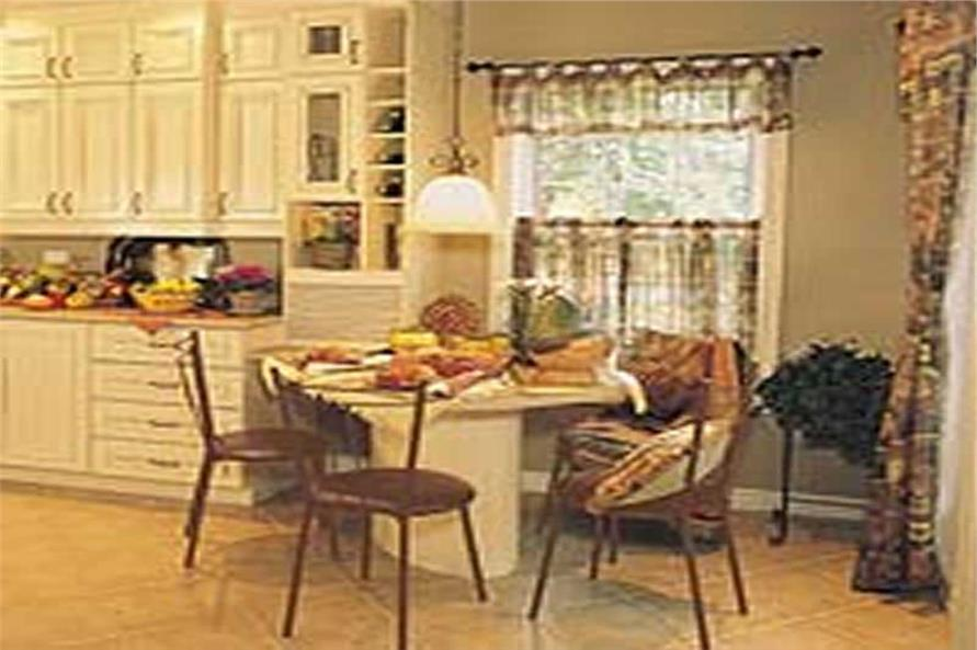 Kitchen: Breakfast Nook of this 3-Bedroom,2257 Sq Ft Plan -126-1297