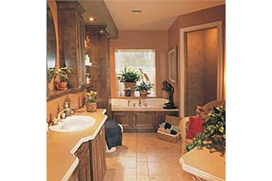 Master Bathroom of this 3-Bedroom,2257 Sq Ft Plan -126-1297