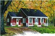 View house Plan#126-1300