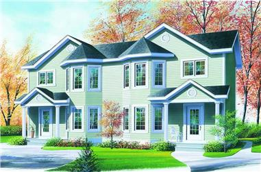 Main image for house plan # 4155