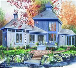 House Plan #126-1303