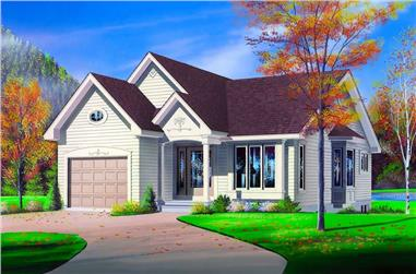 Main image for house plan # 4132