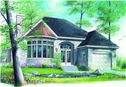 View house Plan#126-1307