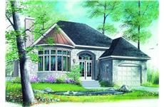 Main image for house plan # 4110