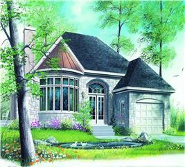 House Plan #126-1307