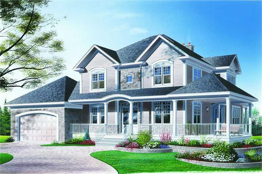 Main image for house plan # 4135