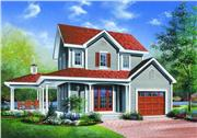 View house Plan#126-1310