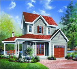 House Plan #126-1310
