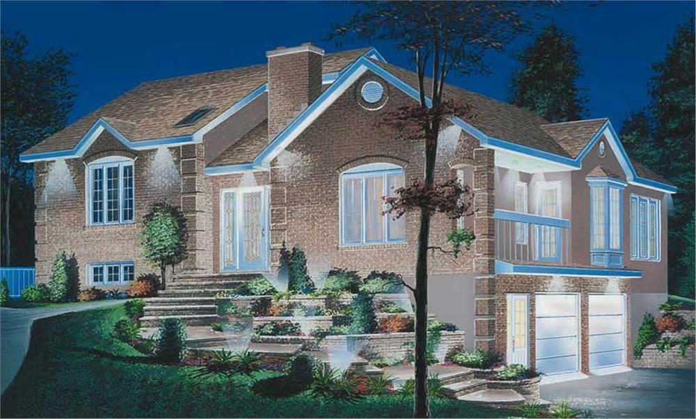 Main image for house plan # 12708