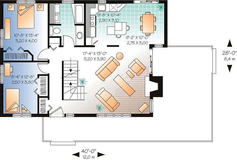 Contemporary modern vacation homes house plans home for 126 simcoe floor plan