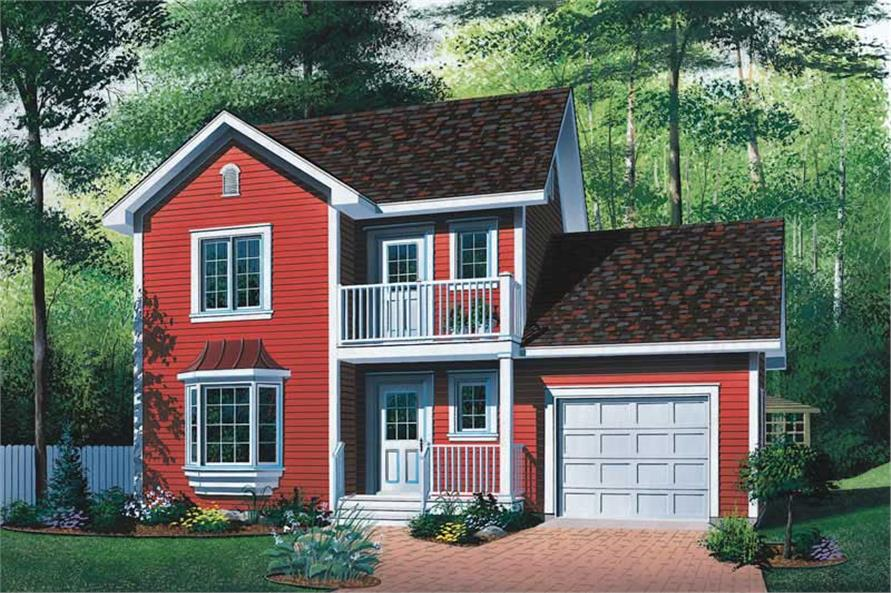Main image for house plan # 13019