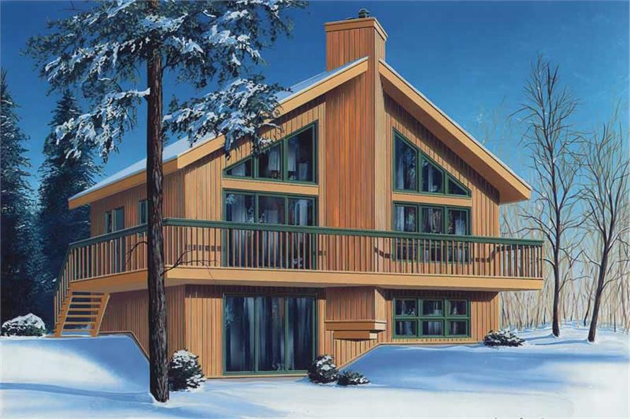 Main image for house plan # 13030