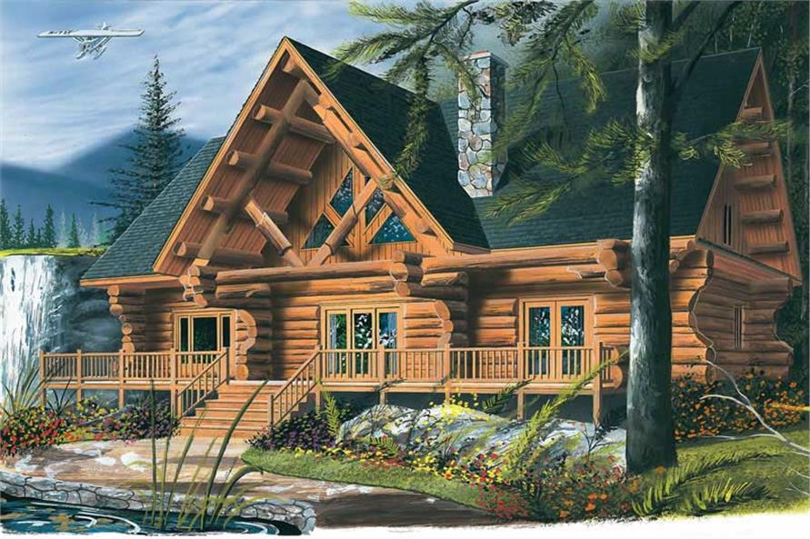 Main image for house plan # 13022