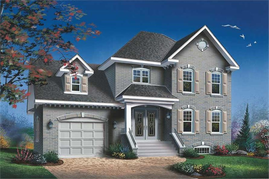 Main image for house plan # 12698